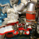 Przekrój turbosprężarki producenta
